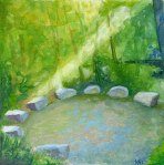 painting of stone circle